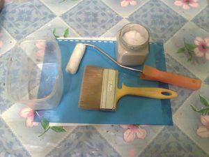 Техники работы с меловой краской. Часть1: контрастное окрашивание темной поверхности в белый цвет | Ярмарка Мастеров - ручная работа, handmade