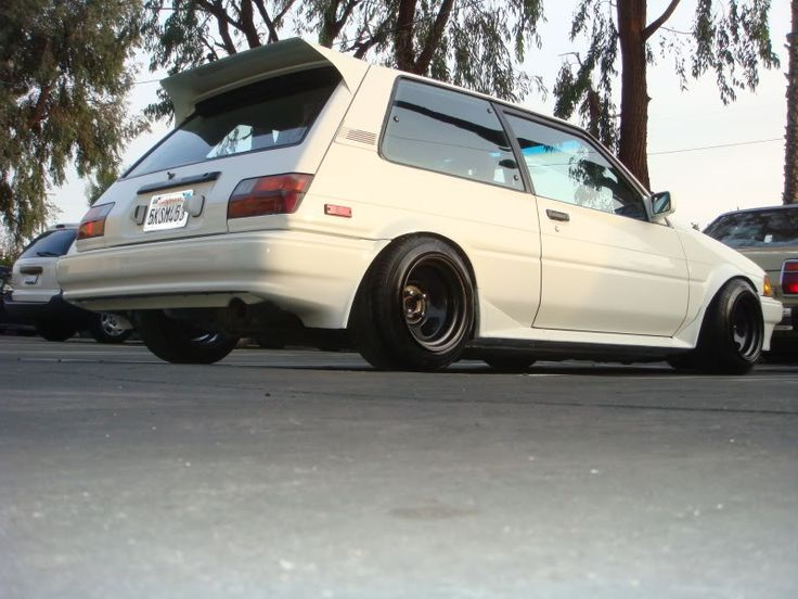 Toyota Corolla FX16 | Lowered, Stance, #JDM