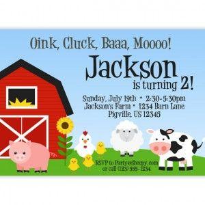 Best 25+ Farm party invitations ideas on Pinterest | Farm themed ...