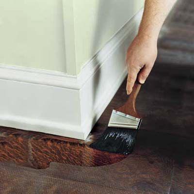 How To Refinish Wood Floors.