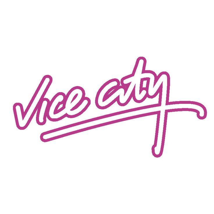 gta vice city logo (808×808) | graphics | pinterest