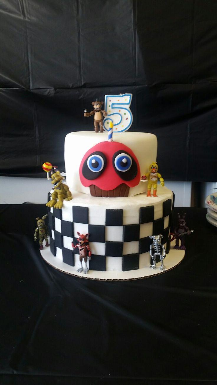 113 Best Images About Fnaf Cake On Pinterest