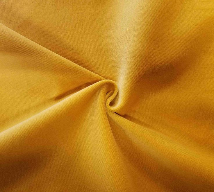 Luxurious Solid Yellow 100% Cotton Velvet Velour Fabric for Upholstery Heavy Weight Curtain Drapery Material Sold by the Yard 54 inch Wide by LushesCurtains on Etsy