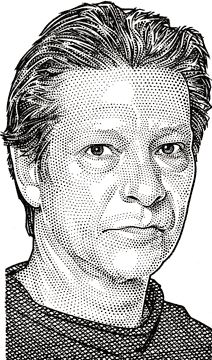 wall street journal hedcuts on behance portrait design on wall street journal id=93482