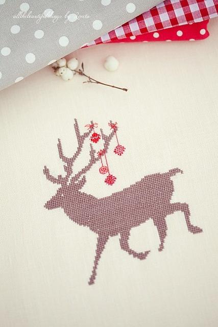 Weihnachts-Hirsche (