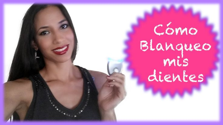 Cómo BLANQUEAR los DIENTES con WHITENING LIGHTNING | How to use WHITENIN...