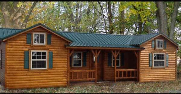 Take a Virtual Video Tour of this Amazing $16,348 Log Cabin by One of the Best Log Home Builders: Amish Log Cabins