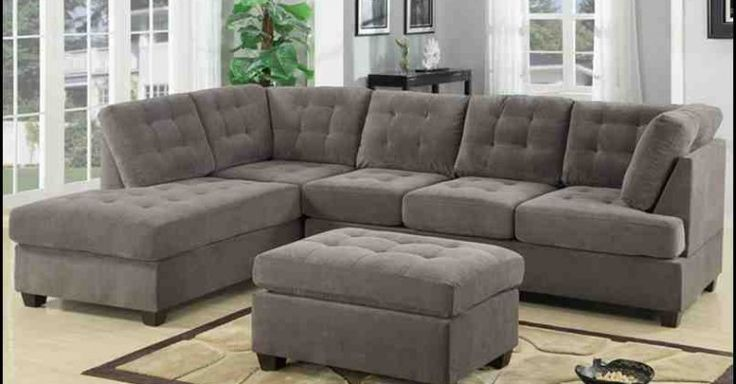 1000+ Ideas About Gray Sectional Sofas On Pinterest