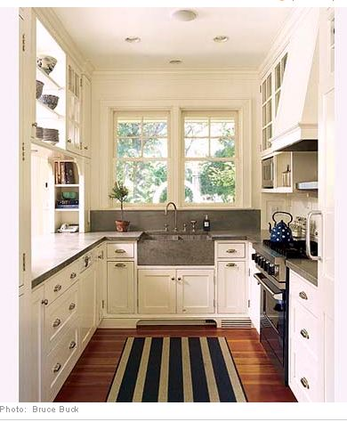 How to Make a Small Kitchen Design Appear Larger