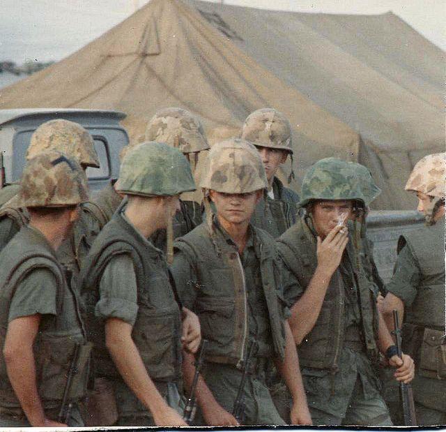 Zulu Company Night Perimeter Guard Duty Marble Mountain