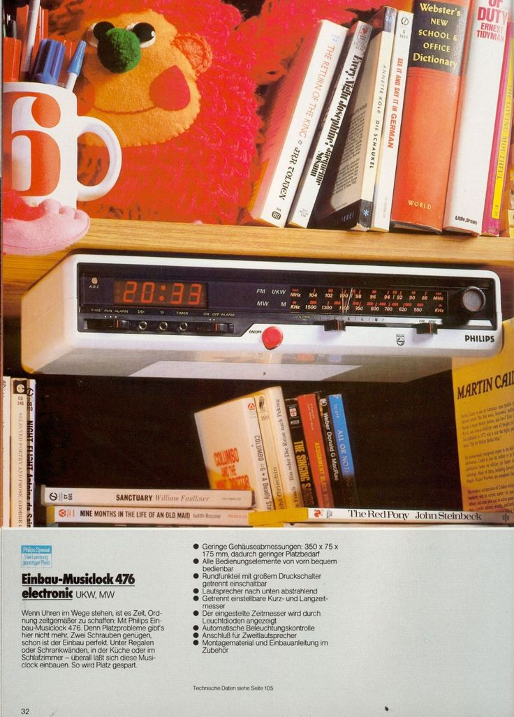 40 best Radio images on Pinterest Radios, Clock and Clocks - einbau küchengeräte set