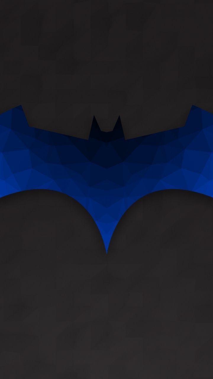 720x1280 Wallpaper Batman Logo Minimal Batch Art Superhero Wallpaper Batman Wallpaper Wallpaper