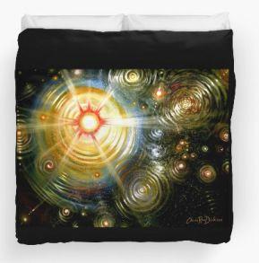 Cosmos duvet cover