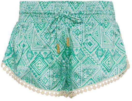 Paloma Blue Navajo Jade Silk Short