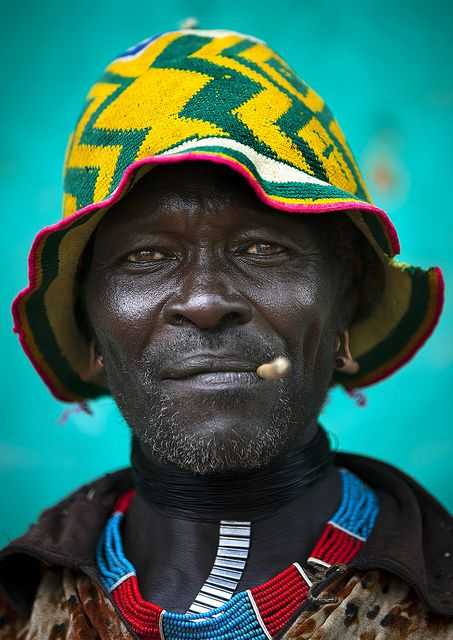 endilletante:    Mr Banko, Bana tribe, Key Afer, Ethiopia by Eric Lafforgue on Flickr.