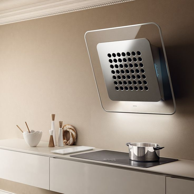 A line drawn in the air - new kitchen hood SOO from Elica designed by FABRIZIO CRISÀ.