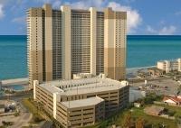 panama city beach tidewater   Panama City Beach Tidewater Beach Resort, sky view