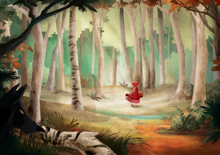 The little red riding hood by ~banana-fox on deviantART