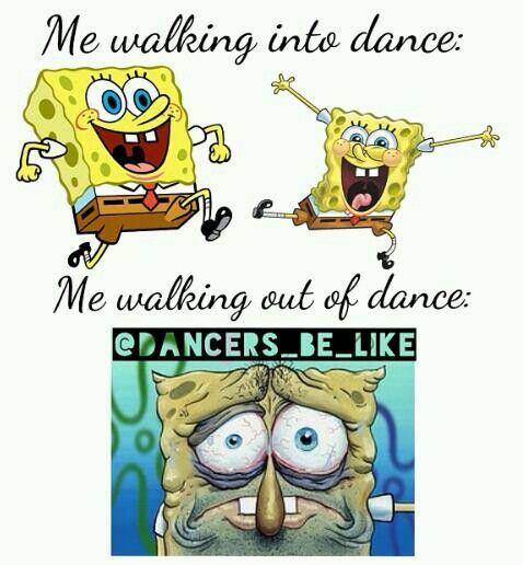 Dance meme..haha always exhausted afterwards!