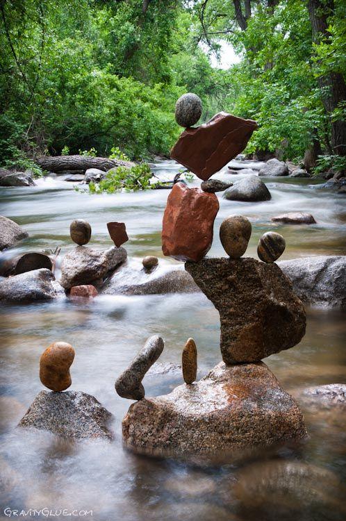 The Mindblowing Art of Rock Balancing by Michael Grab