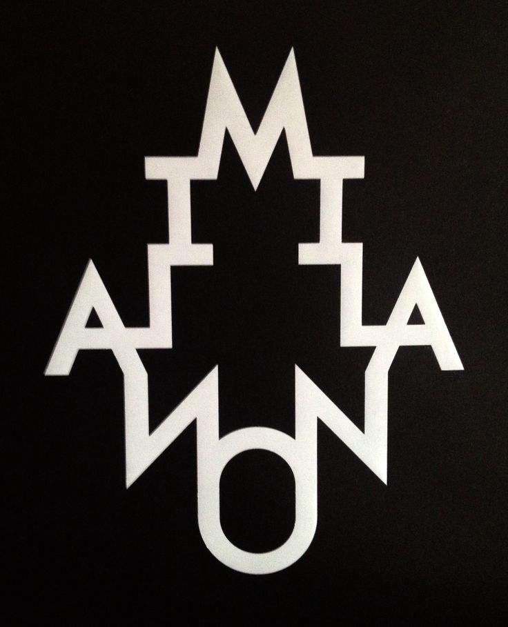 i love this logo milano milan logo brand