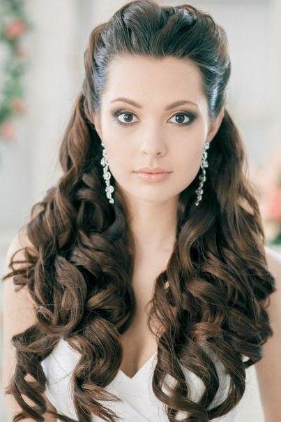 Свадебные прически с локонами | hairwiki.ru