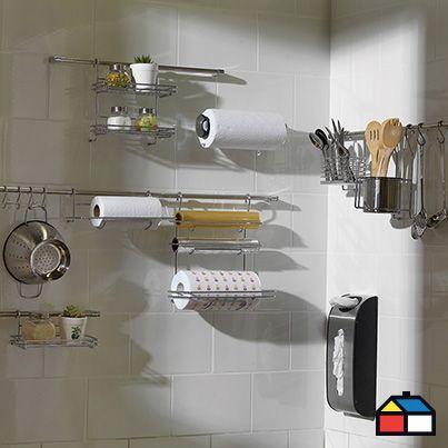 ¡Optimiza espacio en tu #cocina!