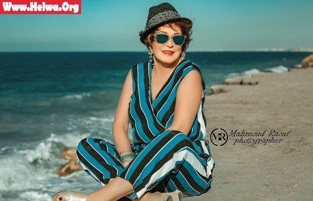 لبلبة تودع الصيف بـ جلسة تصوير على البحر Fashion Cover Up Beach