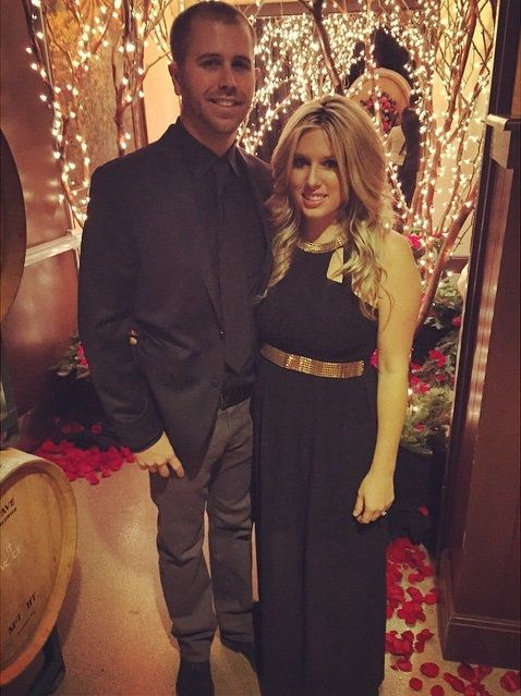 Brian & Whitney Scott at Ty Dillon & Haley Carey's wedding