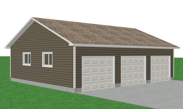 Menards home building kits and prices joy studio design for Diy garage cost