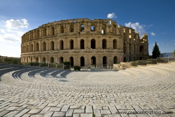 The Amphitheatre of El Jem