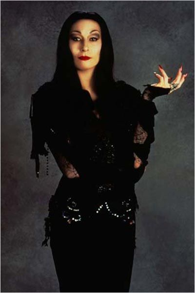 La Famille Addams : Photo Anjelica Huston, Barry Sonnenfeld