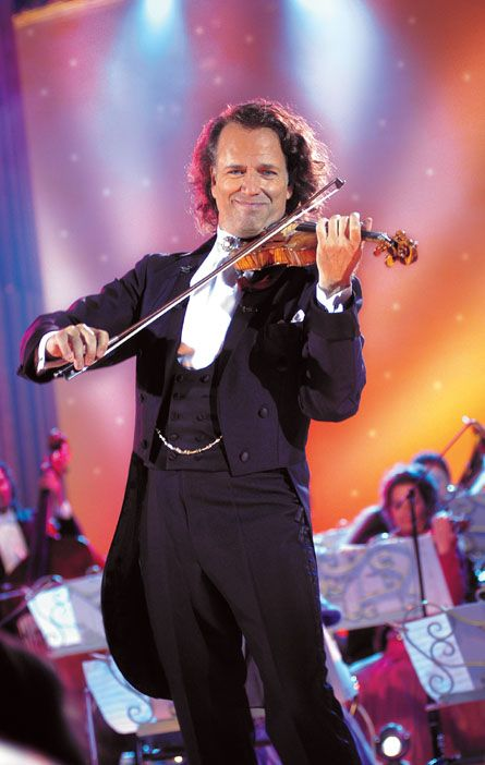 Andre Rieu - love him he is such a showman