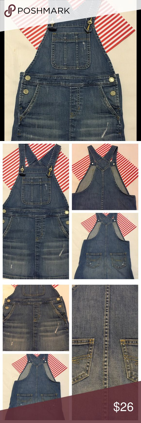 💕Gap Kids rip denim skirt overalls size Small💕 Gap Kids rip denim skirt overalls girls size SMALL used condition no tears or stains Smoke free Home &pet💕👌🏻 Gap Kids Bottoms Skirts