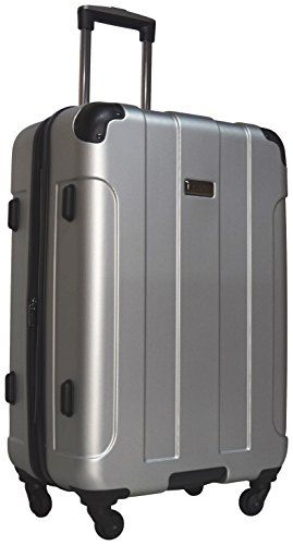 Carry-on Luggage Collections   Kenneth Cole Reaction Central Park 24 4Wheel Upright Expandable Spinner Light Silver -- Want to know more, click on the image. Note:It is Affiliate Link to Amazon.