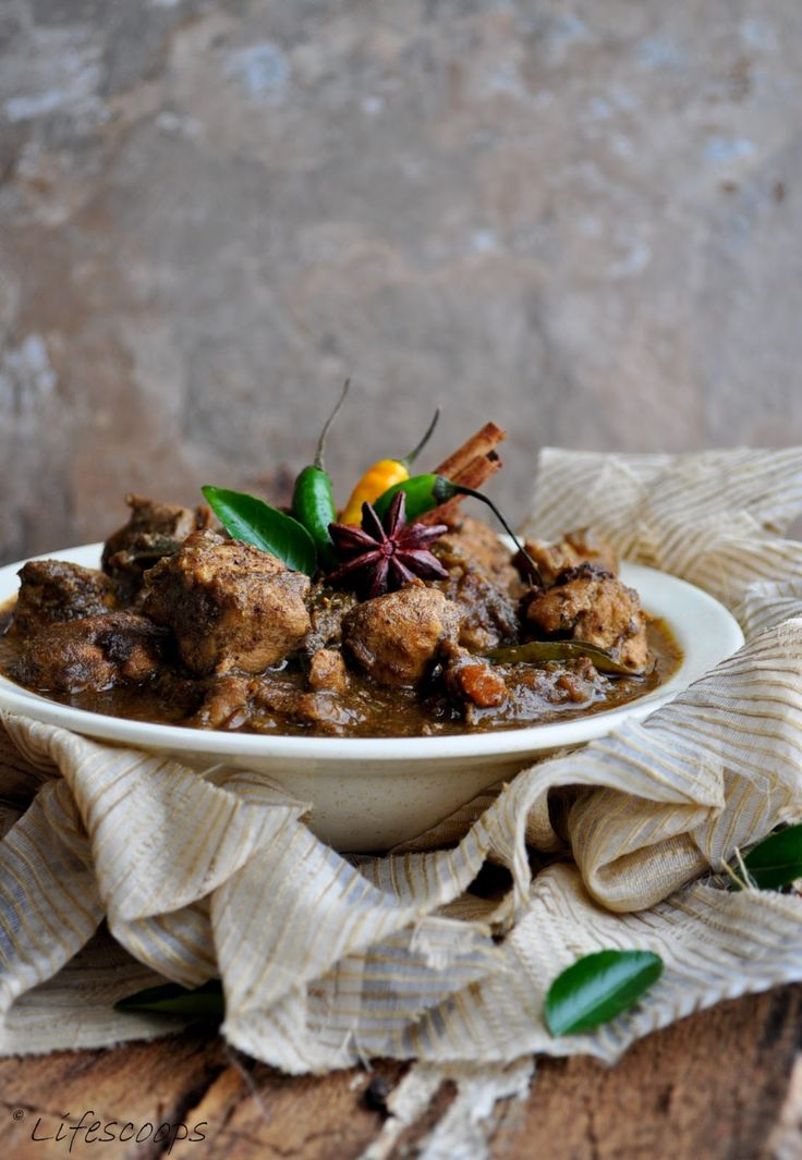 Chettinad Chicken Curry, Spicy Indian Chicken Curry, South Indian chicken recipe, Tamil Nadu non vegetarian recipe