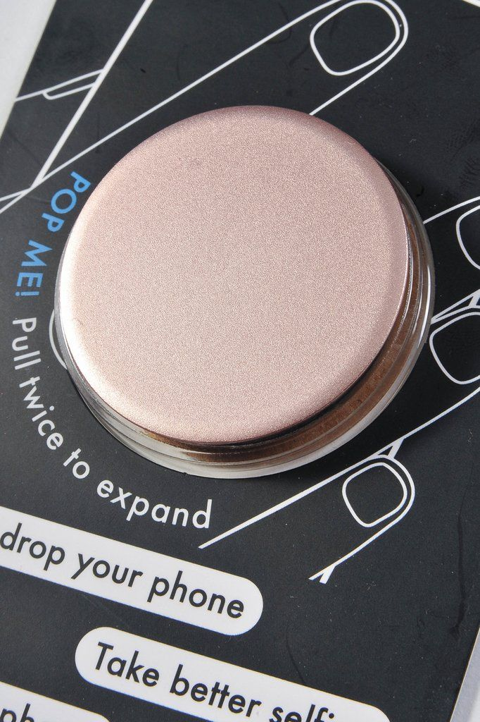 Popsocket ~ Rose Gold Aluminum available at J. Lilly's Boutique or jlillysboutique.com