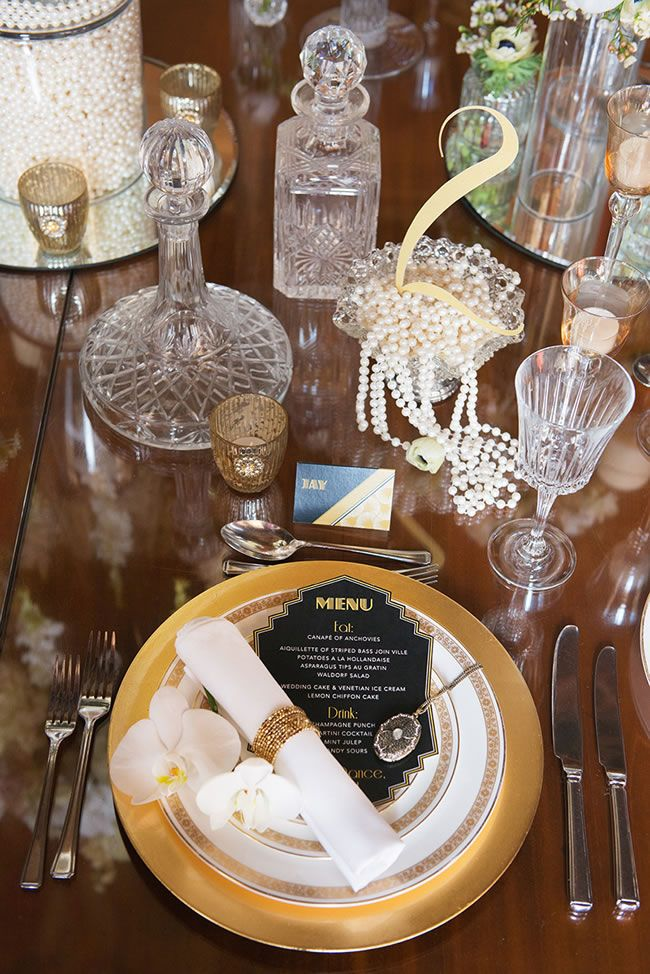 The Great Gatsby – Glamorous inspiration for your 1920's wedding theme