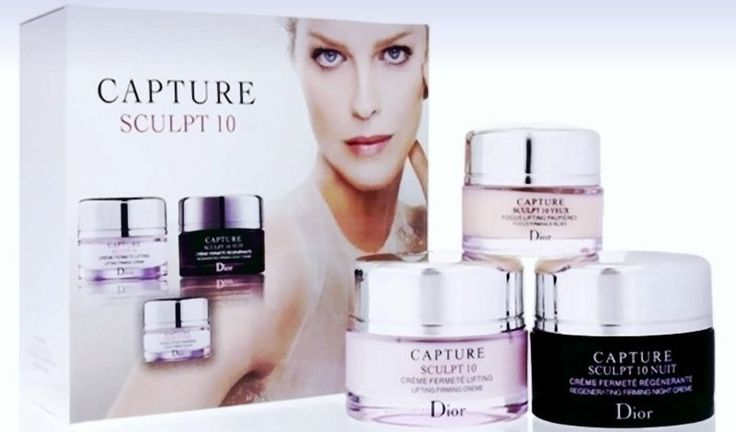 CHRISTIAN DIOR CAPTURE SCULPT 10 Lifting Firming Cream 3 pcs BOX/SET  #CHRISTIANDIOR