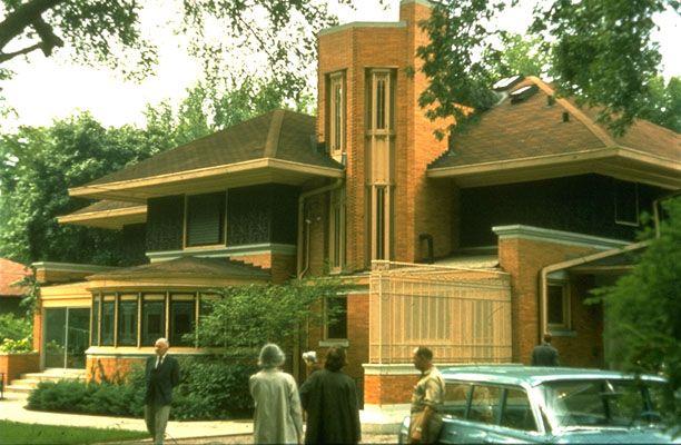 198 best frank lloyd wright images on pinterest for Frank lloyd wright river house