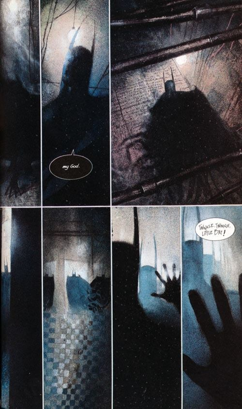 batman graphic novel In this groundbreaking, painted graphic novel, the inmates of arkham asylum have taken over gotham's detention center for the criminally insane on april fools day, demanding batman in.