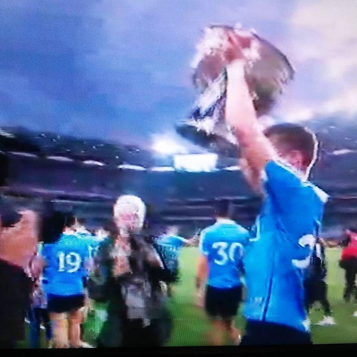 Congrats!!! 2016 All-Ireland Gaelic Football Champions...Dublin! #upthedubs💙 #gaa #crokepark #allireland #sammaguire #dublin #theboysinblue #thehoganstand #champions #athcliath #baileathacliath #gaelicfootball #dublinsky #dublincity #dubliners #sports #team #dublingaa #coybib...See this Instagram photo by @alanhogano • 18 likes