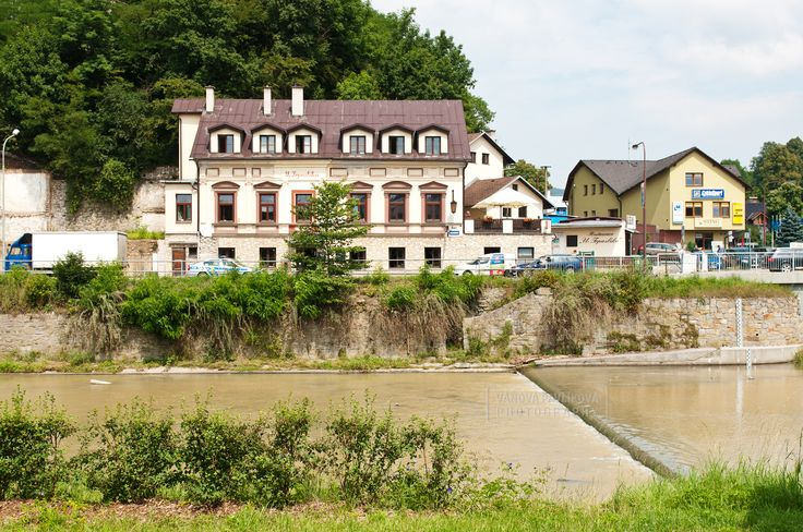 Vsetín and the River Bečva