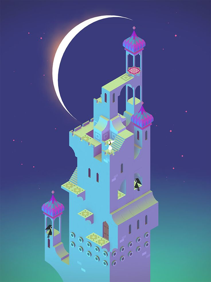 Step Inside an Interactive M.C. Escher Drawing with Monument Valley video games iPhone iPad
