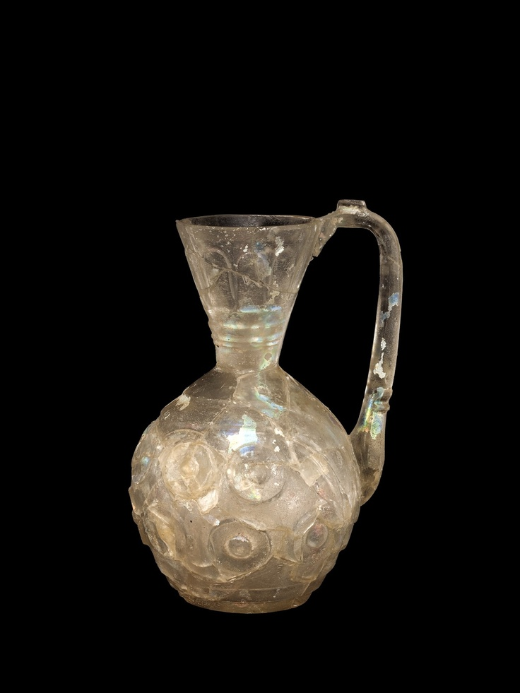 pitcher muslim Islamic pitcher damascus work copper silver inlay 1940's judaica inscribed vase.