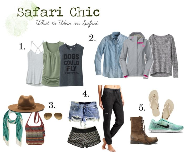 Safari Chic - What to Wear on Safari - Strum Simmer Sip