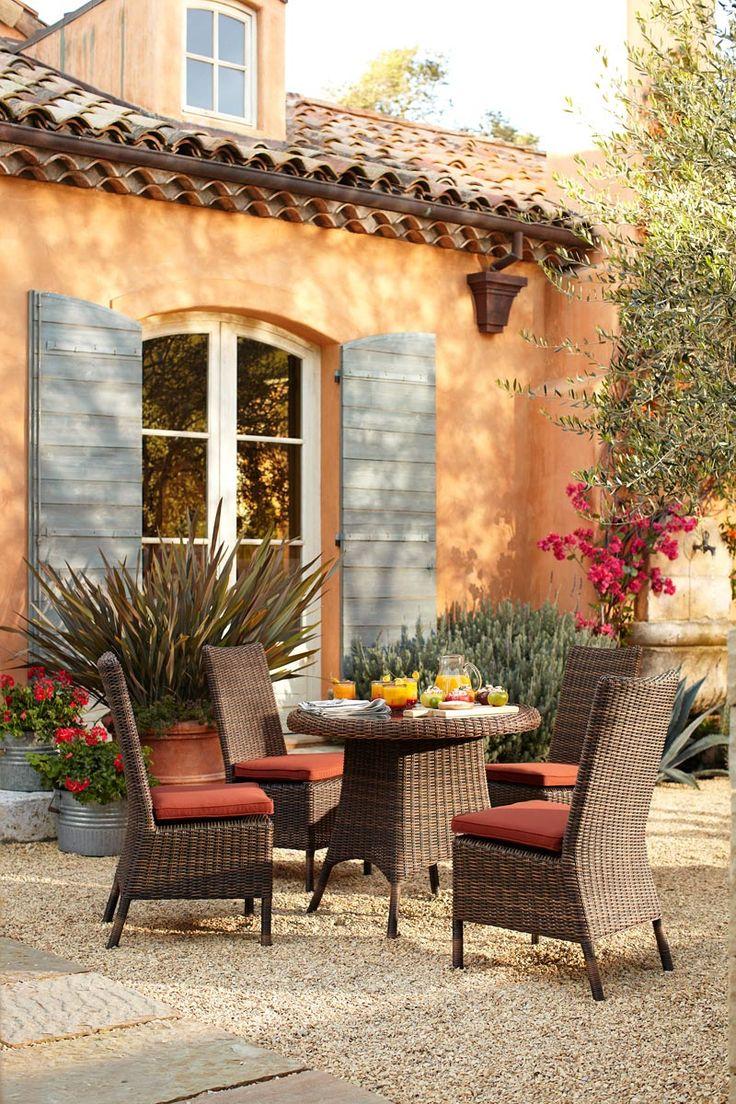 Whimsical Raindrop Cottage, bella-illusione: Pottery Barn Outdoors Decor