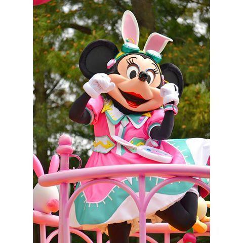 #Disney   シェイク💃  の時のミニーちゃん💓    は~💓たまらん😂💘 .  .  小さい頃は本気でミニーちゃんになりたいと思っていました…笑    もう一回行きたい~😂  .   #東京ディズニーリゾート #東京ディズニーランド #ディズニーランド #ディズニーリゾート#ディズニーイースター #ミニーマウス #ミニーちゃん #ミニー #うさたま大脱走 #うさたま #ディズニー写真部 #ディズニーカメラ隊 #ディズニーガールズ #ディズニー好きな人と繋がりたい