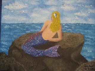 los dibujos de jose angel barbado - la sirenita - the mermaid - by jose angel barbado -http://losdibujosdejoseangel.blogspot.com.es