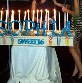17 Best Images About Sweet 16 Beach Theme On Pinterest